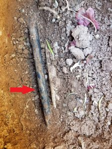 Fix a broken irrigation tube. Find the leak!