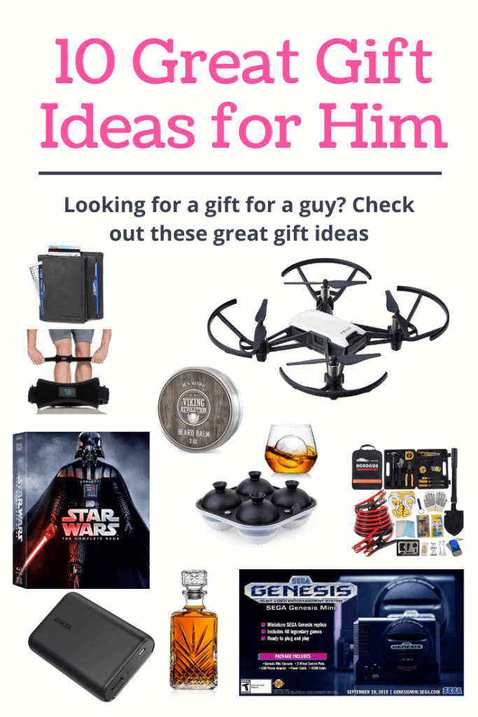 10 great gift ideas for him