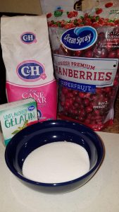 Frosted Cranberry recipe ingredients