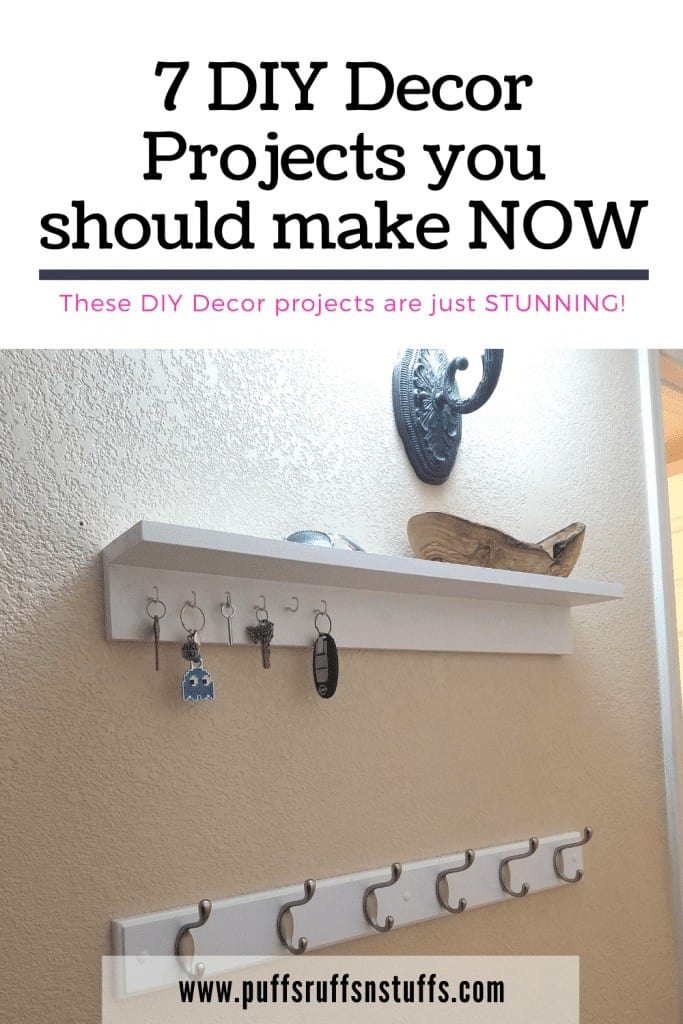 7 DIY Decor Projects you should make NOW - These DIY Decor projects are just STUNNING