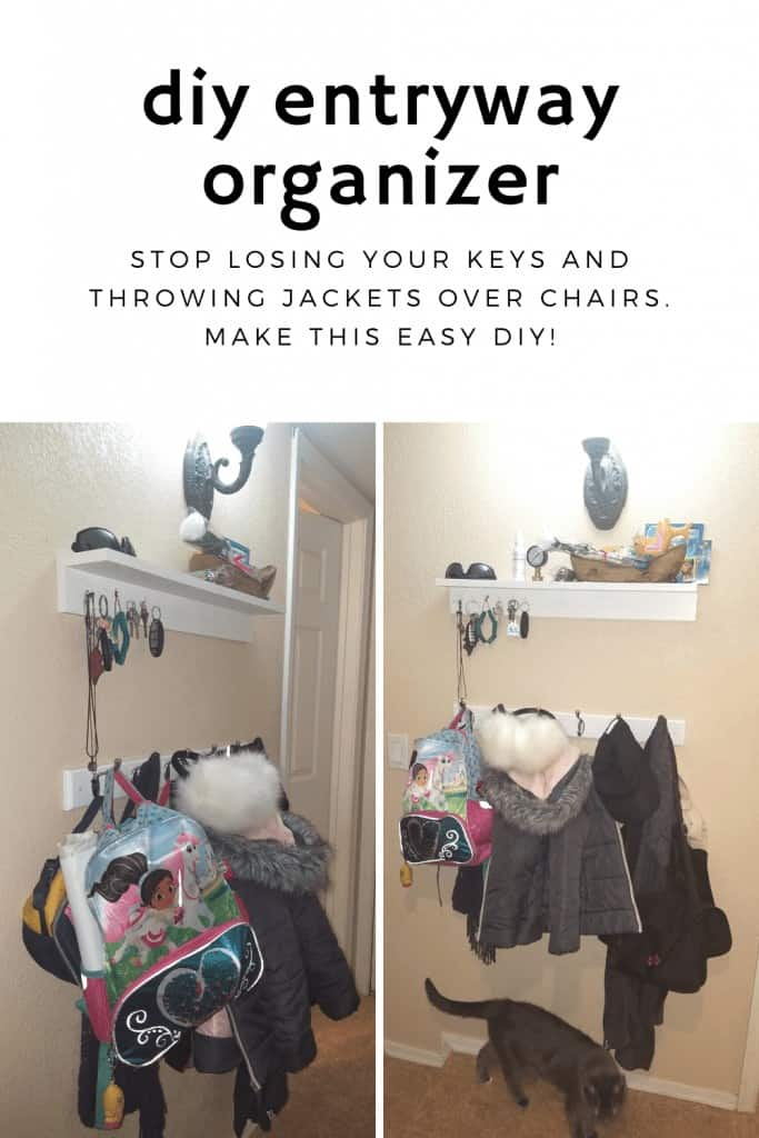 DIY Home Decor Projects - Hall Organizer Station