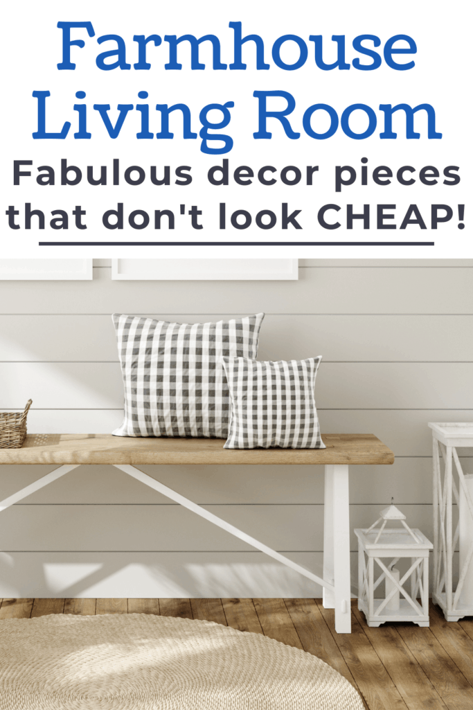 Get the perfect farmhouse living room with these fabulous decor pieces you need! These amazing modern farmhouse living room decor pieces will help you get the country living room you dream of.